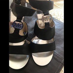 Michael Kors wedge sandals size 9